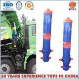 Tipo reto de levantamento dianteiro cilindro para o cilindro hidráulico de caminhão de descarga
