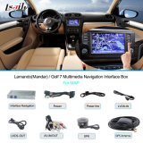 Golf 7 Lamandotouch Navigation, USB, HD Video, Audio를 위한 VW Car Multimedia Navigation Interface Box