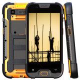 5 '' IP68 Smartphone raboteux Quadcore 2GB+16GB, panneau visible de soleil d'IPS