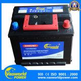 Bateria de carro livre da manutenção de DIN56221 Mf 12V62ah