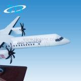(Q400) avião modelo da resina da escala Dash8-400 1/100