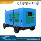携帯用水によって冷却される電気生成の一定のトレーラーの移動式ディーゼル発電機