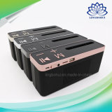 Casella portatile dell'altoparlante di chiamata di 4 colori mini del basamento Mano-Libero del telefono