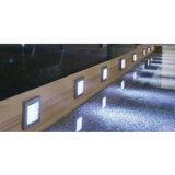 1.8W LED delgado de luz del gabinete interior Square Decorar luz del gabinete