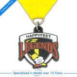 記念品のスポーツの第2バスケットボールのアラブ首長国連邦のための銀製のエナメルメダル