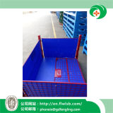Подгонянный стальной контейнер ячеистой сети для хранения пакгауза
