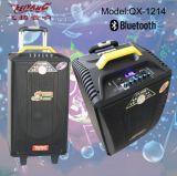 Feiyang beweglicher nachladbarer Bluetooth Lautsprecher mit 2 UHF Mic--Qx-1014