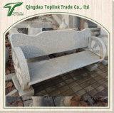 石灰岩の青石のベンチの石の表および椅子