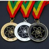 Medaglia interurbana del premio della stazione di finitura del metallo su ordinazione