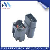 Pièce en plastique électronique de moulage par injection de prise électrique (MXJ-P-0018)