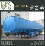 Carburant /huile/de camion-citerne remorque liquide 42000L - 6 semi