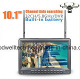 "Built in Battery, 32 CH AV Receiver 10.1 ""5.8g Fpv DVR Monitor"