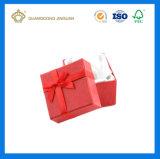 Rectángulo de papel del regalo especial y útil del nuevo diseño 2017 con la cinta de seda