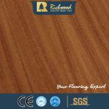 Plancher en bois stratifié insonorisant en gros de chêne blanc de planche de vinyle