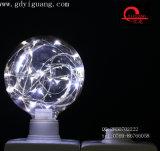 Ampoule colorée spéciale du matériau G125 G95 G80 de DEL d'étoile de câblage cuivre jaune d'ampoules