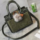 Firmenzeichen-Handtaschen-Frauen-grossen Größetote-Beutel mit Veloursleder-Qualität Sy8092 anpassen