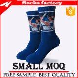 Kundenspezifische Spieler-Sterne kopierten Sublimation-Socken