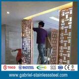 Рассекатель комнаты металла экрана металла декоративный Perforated