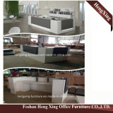 (HX-5N238) Forniture di ufficio di legno della melammina della Tabella del contatore di ricezione dell'ufficio della ciliegia