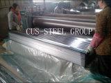 Panneaux galvanisés de toiture de feuilles de fer ondulé/tôle