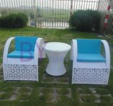 3 PCS高級な手編む装飾的なパターンPEの藤の家具