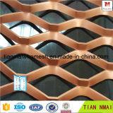 Placa ampliada aluminio del modelo de la aleación de aluminio del panel del metal