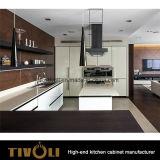 Блоки конструкции волны белые и черные кухни с нестандартной конструкцией Tivo-0206h причудливый верхней части стенда
