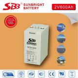 2V600ah batteria del AGM SLA per la centrale elettrica verde