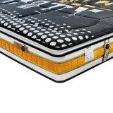 Natürliche Latex-Sprung-Matratze mit Schaumgummi-Rand verdickter strickender Textilverpackung Fb851