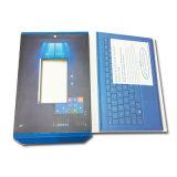 De uitstekende kwaliteit Aangepaste Druk van het Vakje van de Verpakking van het Document voor Elektronische Producten