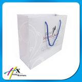 Bolsa de papel llana blanca de Kraft
