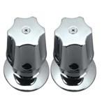 Hahn-Griff im ABS Plastik mit Chrom-Ende (JY-3014)