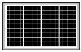 poli comitato solare di 18V 45W-50W (2017)