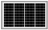 18V 45W-50Wの多太陽電池パネル(2017年)