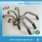 шарик магнита игрушки Emagnetic неодимия перманентности 3mm