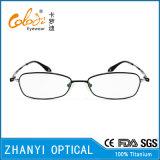 Blocco per grafici di titanio di vetro ottici di Eyewear del monocolo di ultimo disegno per la donna (9301)