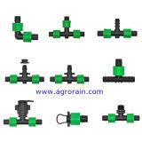 Adattatore allentato di derivazione per il tubo flessibile piano posto irrigazione