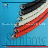 Стеклоткань силиконовой резины Sleeving внутренняя резиновый наружная стеклоткань