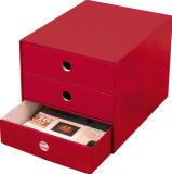 Rectángulo de almacenaje de papel del estilo del cajón, 3 capas del hogar de /Home del rectángulo de almacenaje