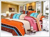 多または綿女王によって合われたベッドカバーのパッチワークの寝具一定T/Cを印刷した