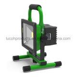 방수 20W 재충전용 LED 플러드 빛