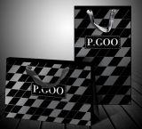 高品質のカードのペーパーロゴによって印刷されるショッピング・バッグ