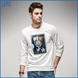 白い余暇の方法長い袖の人のTシャツの印刷