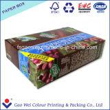 印刷される顧客のロゴのボックスを折るカスタマイズされた紙箱
