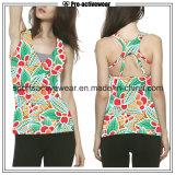 Freies Beispielgroßverkauf-Qualitäts-kundenspezifisches neues Frauen-Trägershirt