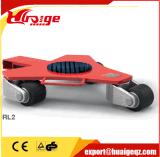 Мастерская оборудует вагонетку 360 градусов Moving тележка движенца машинного оборудования 4 тонн