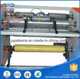 El PVC de múltiples funciones se aferra película que raja la maquinaria de Rewinder con la línea del PUNTO