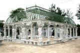 Gazebo di marmo del giardino