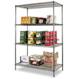 Boutique OEM Metro Store Heavy Duty Chrome Wire Shelving Factory
