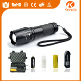 Zoomable nachladbare Taschenlampe 800 Lm leistungsfähige taktische X800